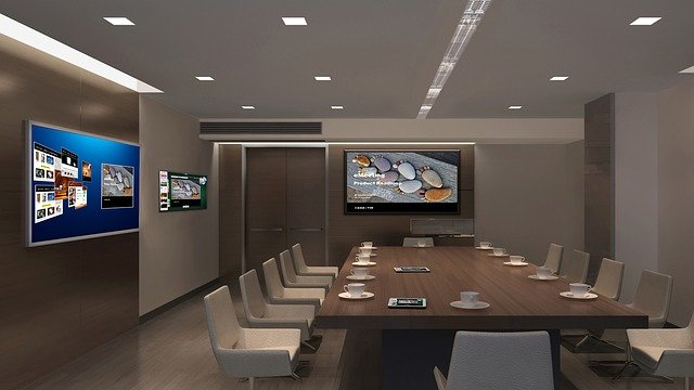 Office LED lighting Aberdeen