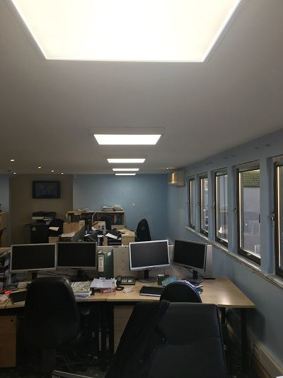 Office LED Lighting in Aberdeen