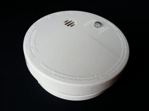 landlord main wired smoke alarm
