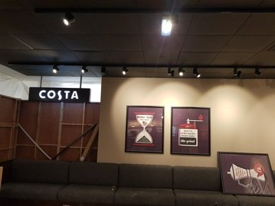 Costa in Aberdeen completed by Aberdeen Electricians