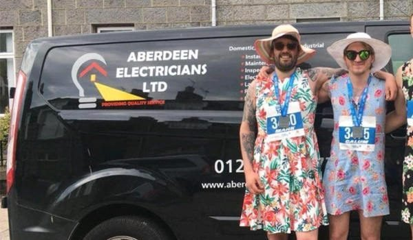 Aberdeen Electricians ready for 10K