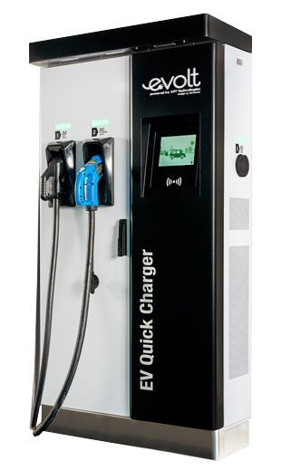 electric car charging points installation Aberdeen