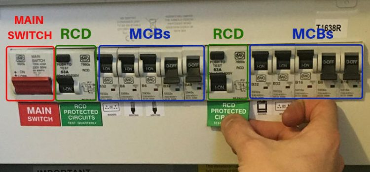fusebox upgrade with RCDs